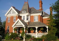 Relax at The Kerr House, a charming Victorian manor in Grand Rapids, OH