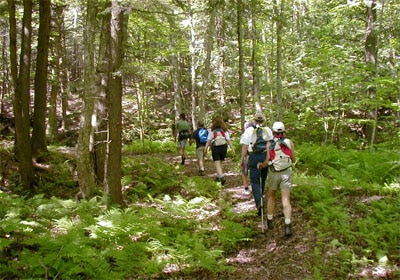 Hike the beautiful Appalachian Trails at the New Life Hiking Spa in Killington, Vermont