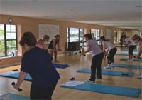 Work with a personal trainer or take a group class at the Regency Wellness Resort and Spa in Hallandale, Florida