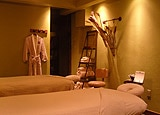 Spa Couples Room at Lodge at Whitefish Lake