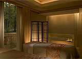 Couples room at The Umstead Spa