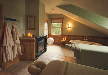 Wind down from high-energy ranch activities with a massage at Sorrel River Spa
