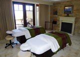 A treatment room at Spa Montage at the Montage Deer Valley in Park City, Utah