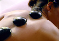 Try a hot stones massage at Gora Kadan