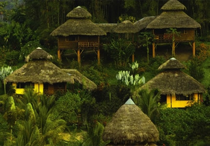 The lush and tropical Arasha Resort & Spa in Ecuador, one of GAYOT's Top 10 Value Spas Worldwide