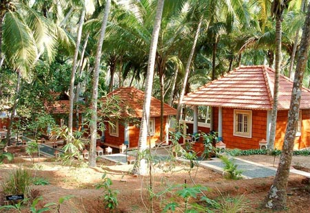Hillock property of Thapovan Heritage Home in Kerala, South India, one of GAYOT'S Top 10 Value Spas