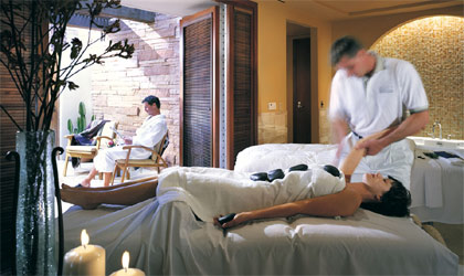 Willow Stream Spa at The Fairmont Scottsdale Princess, one of the spas offering $50 Spa Week treatments
