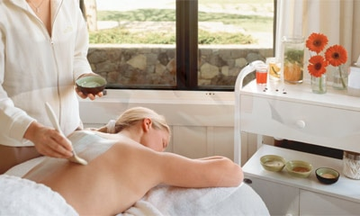 Enjoy relaxation in California's wine country at The Spa at The Carneros Inn in Napa.