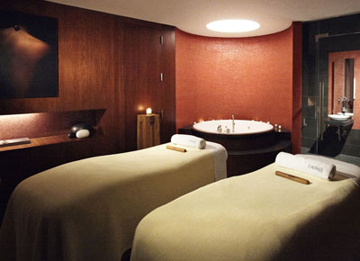 Caudalie at The Plaza Hotel offers guests an array of vinotherapy treatments for slimming the silhouette and purifying the skin