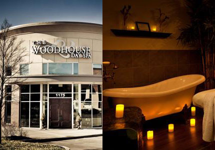 Spend an hour or the whole day at the award-winning The Woodhouse Day Spa in Franklin, TN