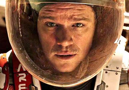 The Martian, one of GAYOT's Top 10 Movies of 2015