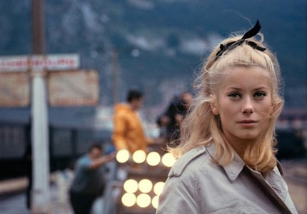Catherine Deneuve in Umbrellas of Cherbourg