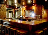 The bar at the Wrecking Bar Brewpub
