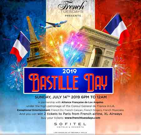 Bastille Day Party at Riviera 31 Lounge Bar