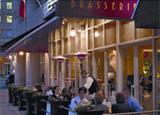 The patio of Brasserie Jo