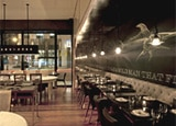 The dining room of GT Fish & Oyster