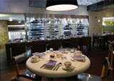 Filini restaurant in the Radisson Blu Aqua Hotel, Chicago