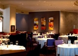 The interior of 701 Restaurant