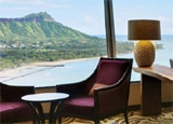 The Leahi Club Lounge at the Sheraton Waikiki