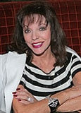 Actress Joan Collins at the opening of LA Food Show Grill & Bar