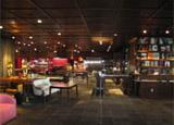 The lobby dining space of The Bazaar by José Andrés