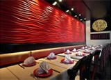 The interior of Chi Dynasty in Studio City