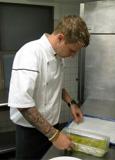 Chef Michael Voltaggio, owner of ink.sack