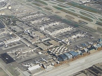 Los Angeles International Airport from above