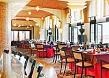 Private dining room at Marssa