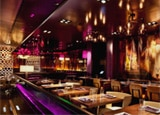 The dining room of Johnny Smalls at the Hard Rock Hotel in Las Vegas