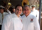 Chef Rick Tramonto and John Folse