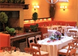 The dining room of Ciano in New York