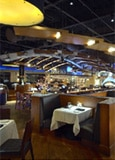 The dining room of Wildfish Seafood Grille
