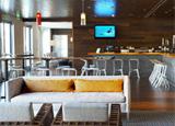 Zimzala in Huntington Beach features their Sunday Bloody Mary Bar