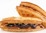 A waffle sandwich from Bruxie
