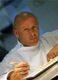 Chef Thierry Marx of Sur Mesure at the Mandarin Oriental, Paris