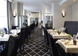 The interior of Restaurant Frederic Simonin.