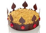 King Cake at  Hotel de Crillon