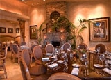 The dining room of Delicias