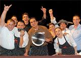 The winners of the Chef Showdown