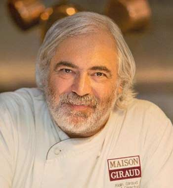 Chef Alain Giraud will present spring cooking classes on April 26 & 29