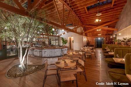 Atrium is open in Los Feliz