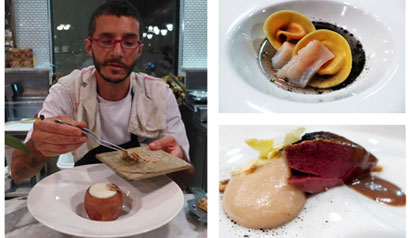 Barbershop Ristorante pop-up restaurant by Chef Walter el Nagar