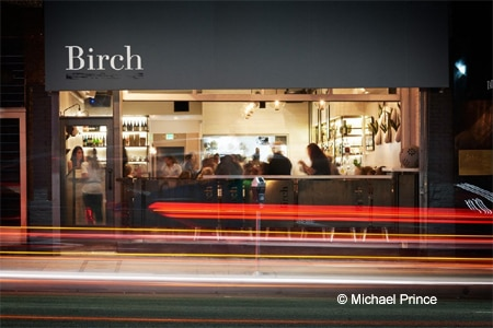 Chef Brendan Collins has opened his new restaurant, Birch