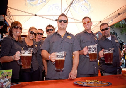 Craft brewery vendors are ready to pour at the California Beer Festival
