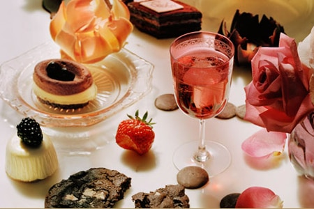 The Langham, Huntington Hotel & Spa serves Tiffin Chocolate Afternoon Tea every Sunday