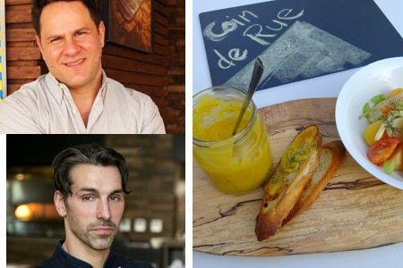 Chef David Féau has partnered with Adam Fleischman on pop-up Coin de Rue