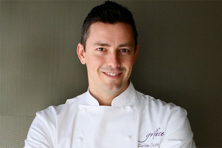 Curtis Duffy of Grace has been named Best Chef: Great Lakes