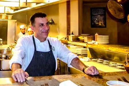 Daniele Turchetti has taken over as executive chef at Locanda del Lago