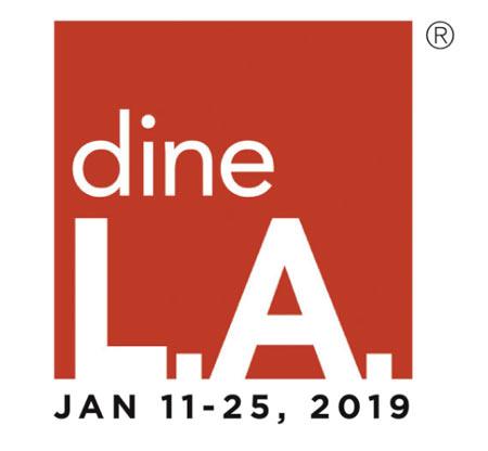 dineLA Restaurant Week returns January 11-25, 2019